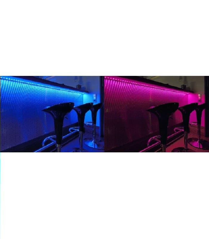led streifen 12v 5050 7 2w m ip68 wasserdicht rgb. Black Bedroom Furniture Sets. Home Design Ideas