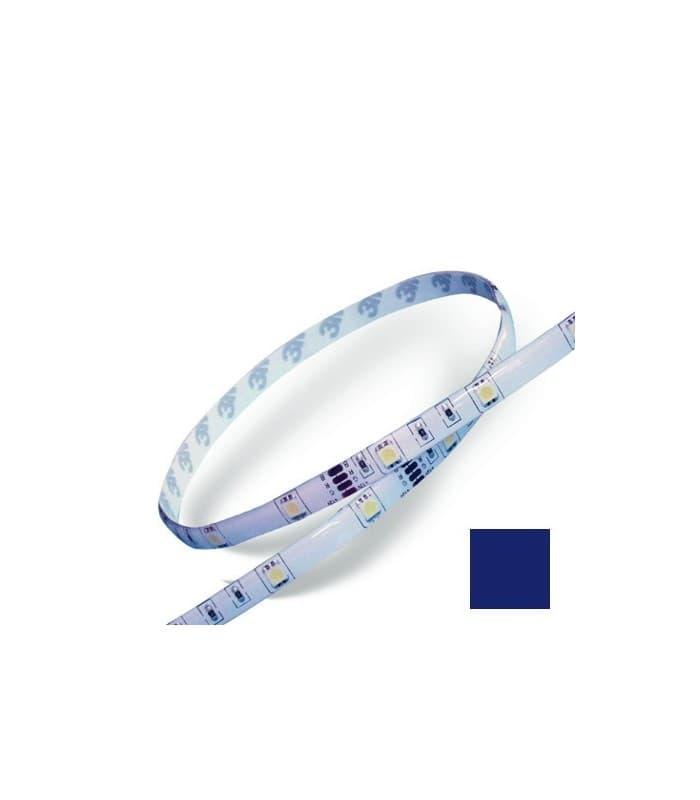 led streifen 12v 5050 7 2w m ip65 wasserdicht blau lm30. Black Bedroom Furniture Sets. Home Design Ideas
