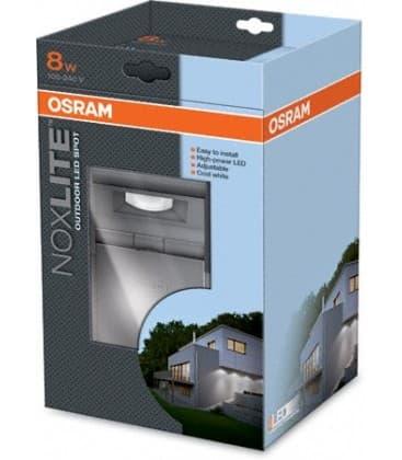 noxlite led spot 8w gr ip44 41012 41012 4008321960955 en. Black Bedroom Furniture Sets. Home Design Ideas
