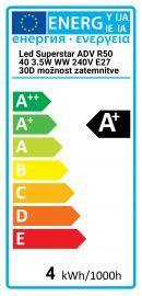 Osram LED Superstar ADV R50 40-3.5W WW 240V E27 30D Gradable