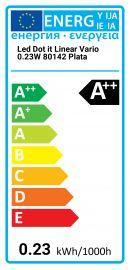Osram LED Dot-it Linear Vario 0.23W 80142 Argento