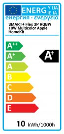SMART+ Flex 3P RGBW 10W Multicolor Apple HomeKit Osram 4058075047846 SMART-FLEX-3P-10W-RGB