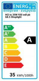 HCI tc 35W 930 wdl pb G8.5 Shoplight Osram 4008321682017 HCI-TC-35-930