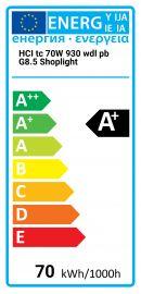 HCI tc 70W 930 wdl pb G8.5 Shoplight Osram 4008321681812 HCI-TC-70-930